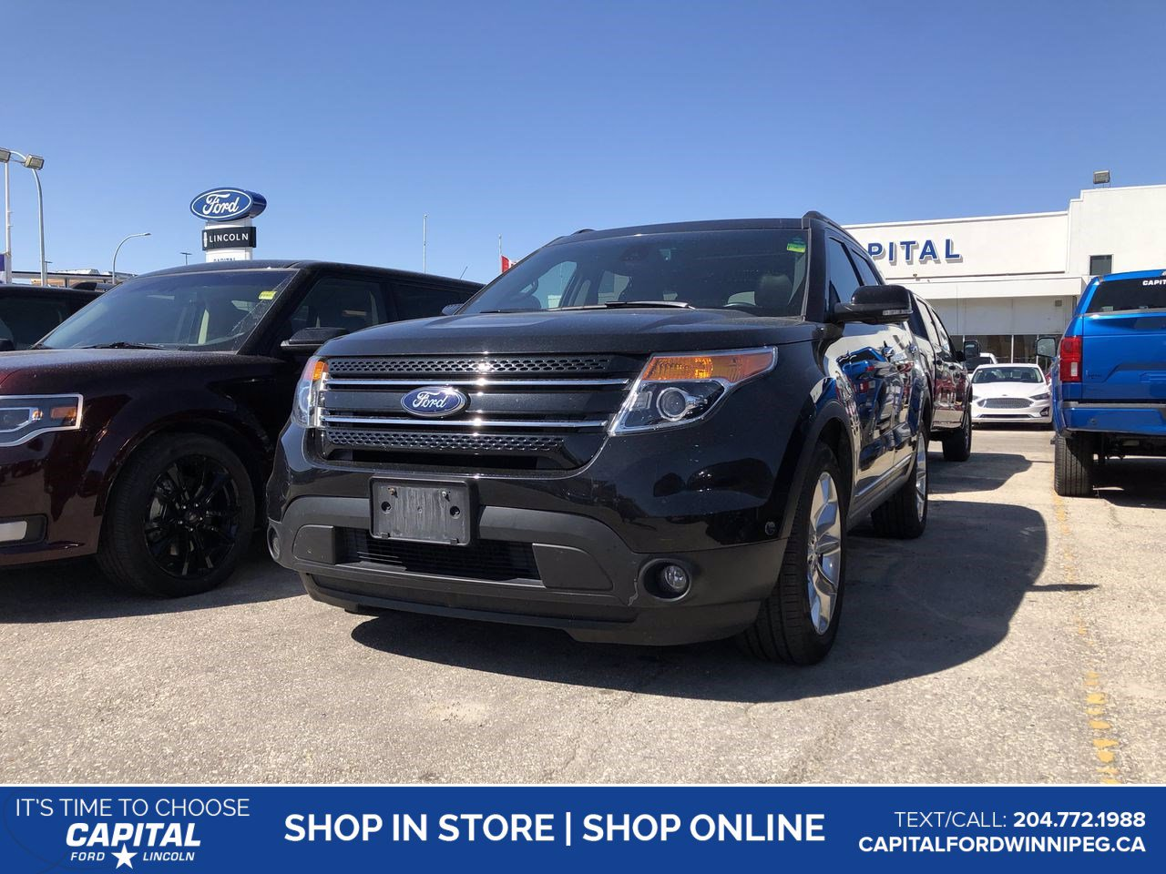 Pre-Owned 2015 Ford Explorer Limited **New Arrival**