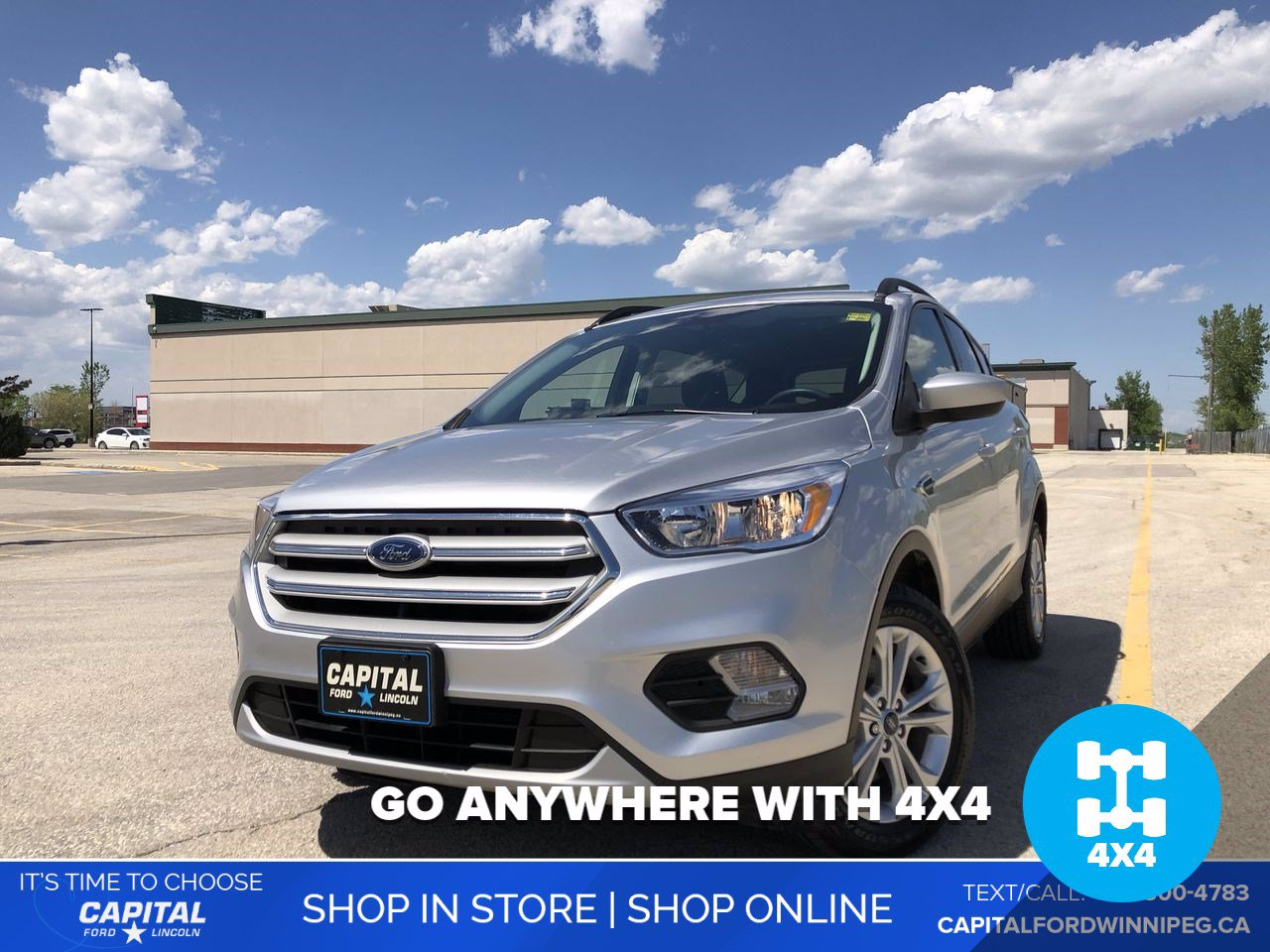 Pre-Owned 2018 Ford Escape SE 4WD *Bluetooth *Back-up Camera