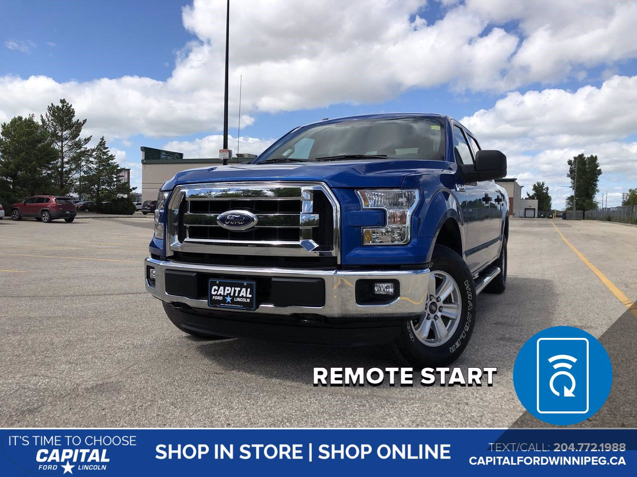 Pre-Owned 2015 Ford F-150 XLT SuperCrew *Bluetooth *Tow Hitch