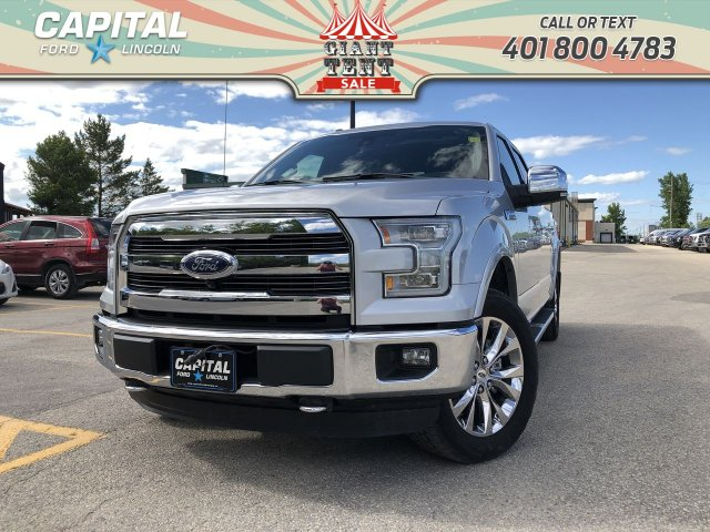 Pre-Owned 2016 Ford F-150 Lariat SuperCrew