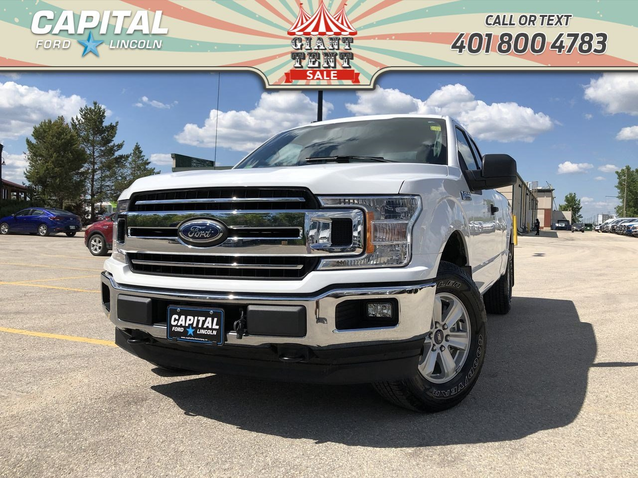 Pre-Owned 2018 Ford F-150 XLT XLT 4WD SUPERCAB 6.5' BOX