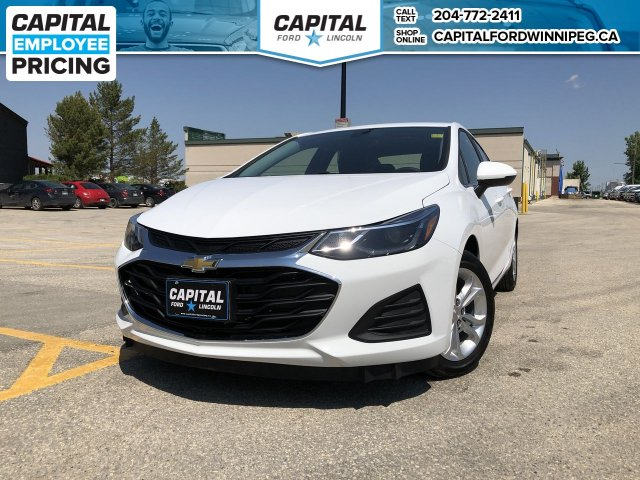 Pre-Owned 2019 Chevrolet Cruze LT 824KM! LIKE NEW NO ACCIDENTS