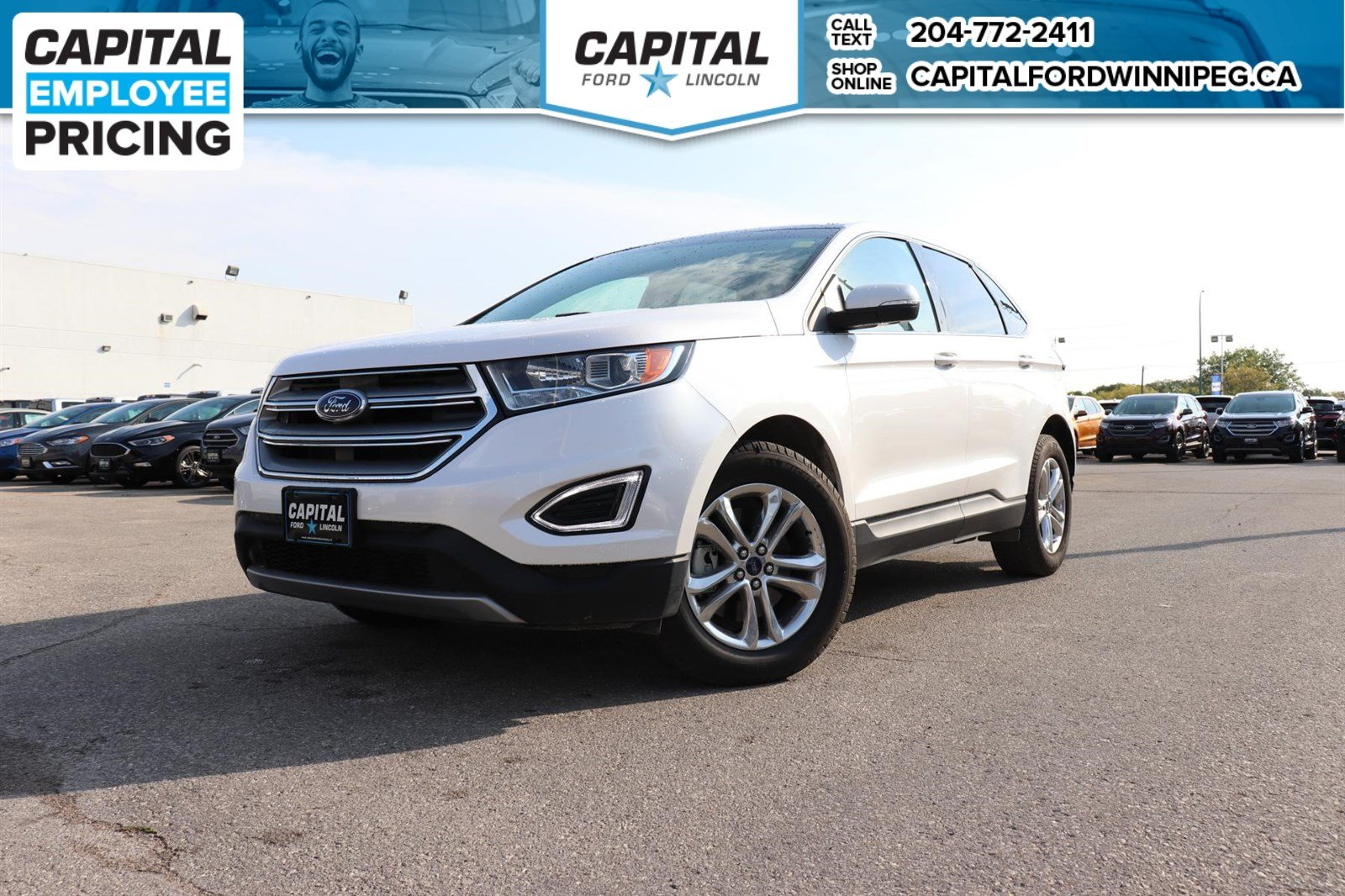 Certified Pre Owned  Ford Edge Sel Awd Ford Certified Pre Owned Rate From