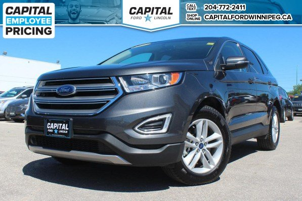 Pre Owned  Ford Edge Sel Awd Reverse Cam Remote Start Heated Seats