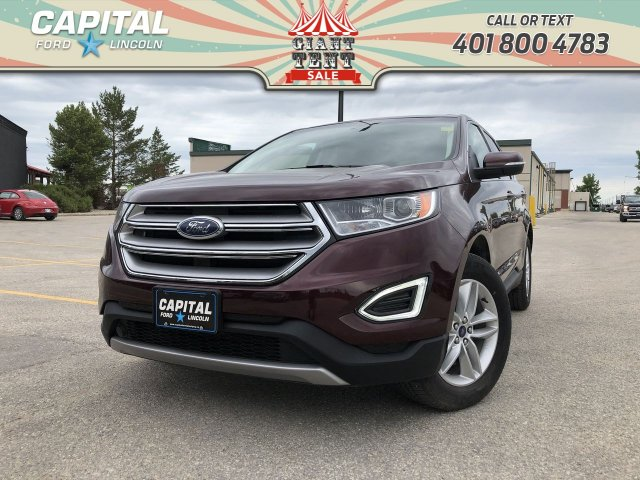 Pre-Owned 2017 Ford Edge SEL AWD RETIRED DEMO LEATHER NAV HTD STEERING