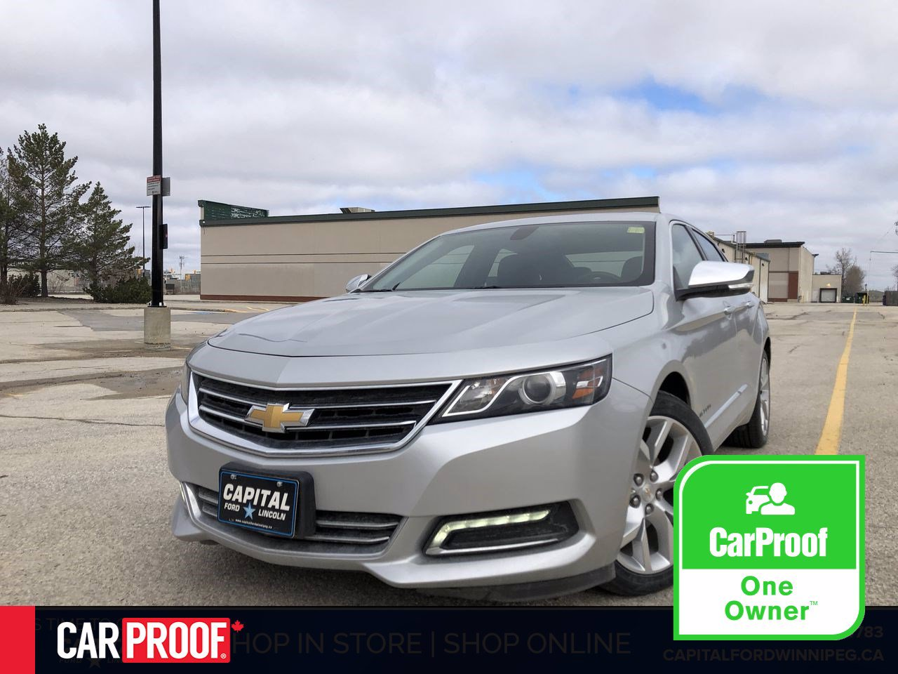 Pre-Owned 2019 Chevrolet Impala Premier Edition- Tire, Rim and Key FOB Warranty!