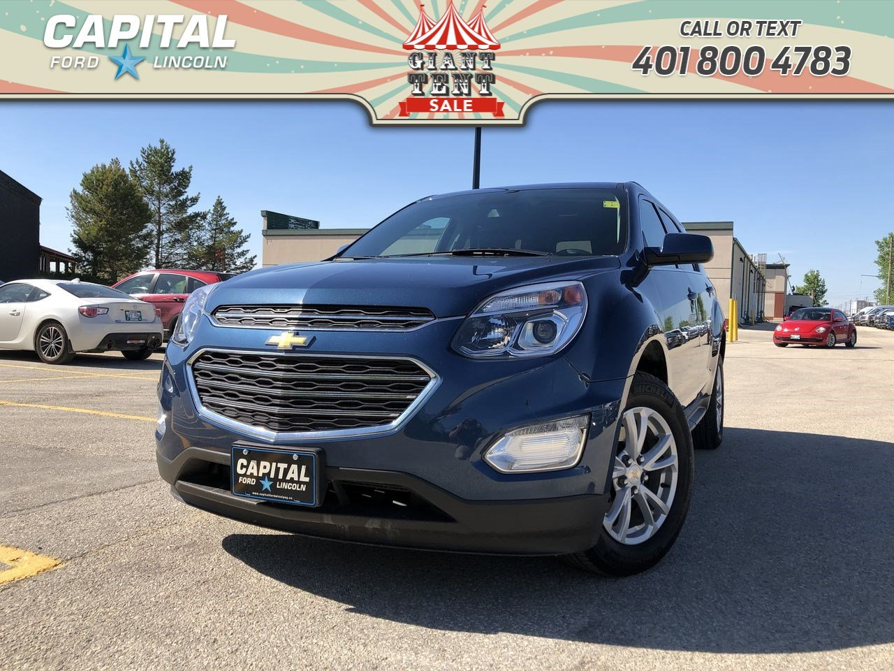 Pre-Owned 2016 Chevrolet Equinox LT AWD FRESH TRADE SUNROOF BACKUP CAM