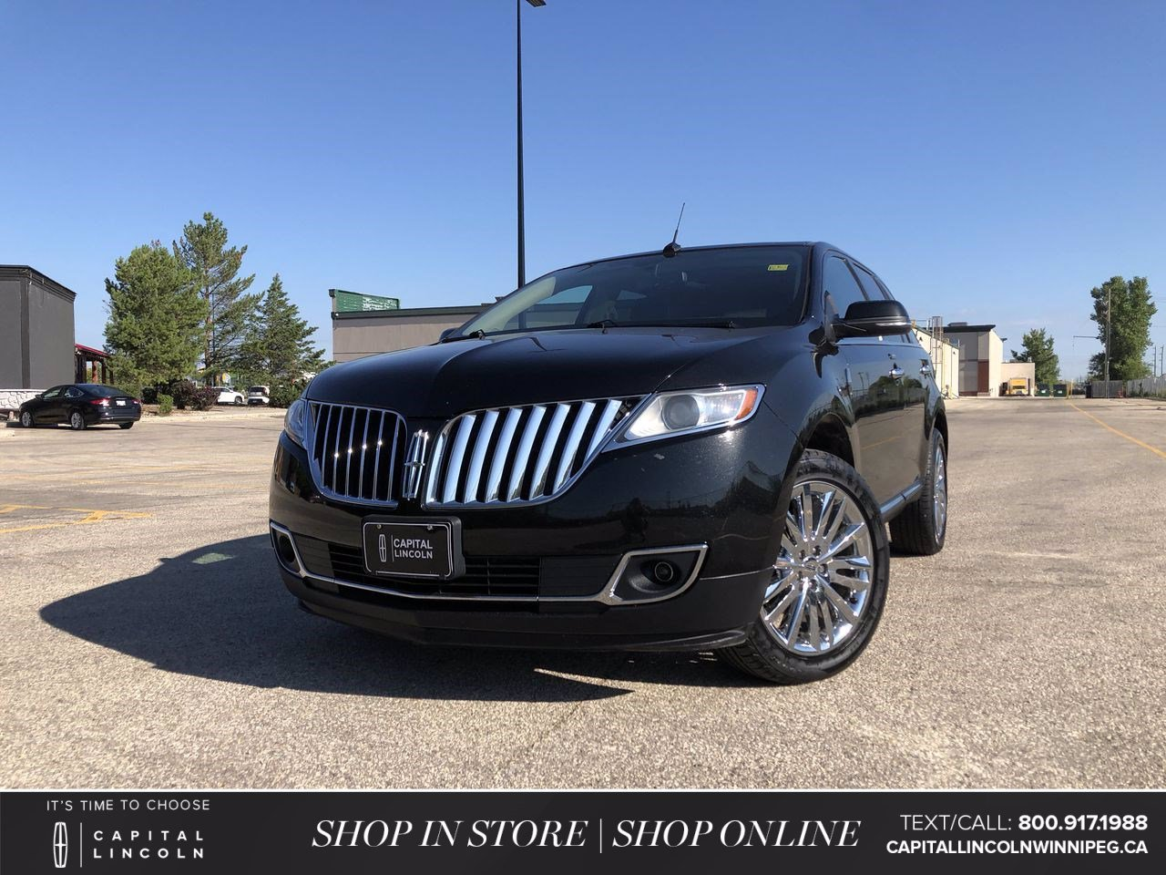 Pre-Owned 2015 Lincoln MKX 4DR AWD *Low KM *A/C Seats *Heated Steering Wheel