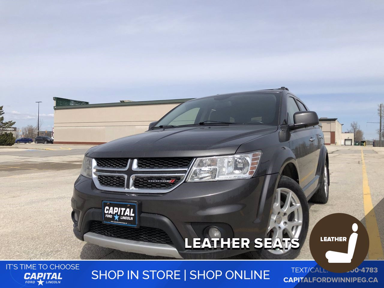Pre-Owned 2016 Dodge Journey R/T AWD *Heated Steering Wheel *Navigation/GPS