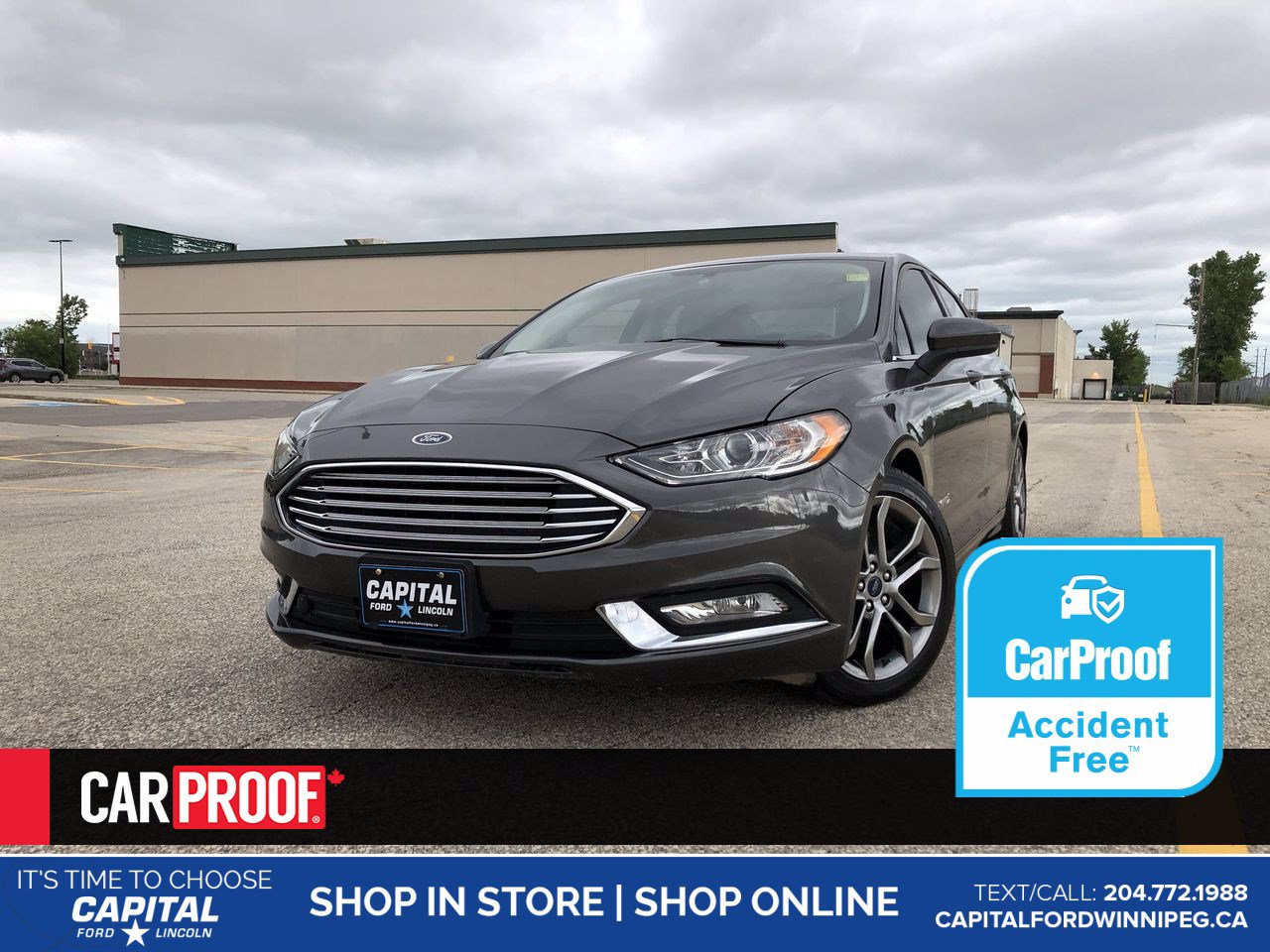Pre-Owned 2017 Ford Fusion SE Hybrid *No Accidents *Bluetooth *Keyless Start