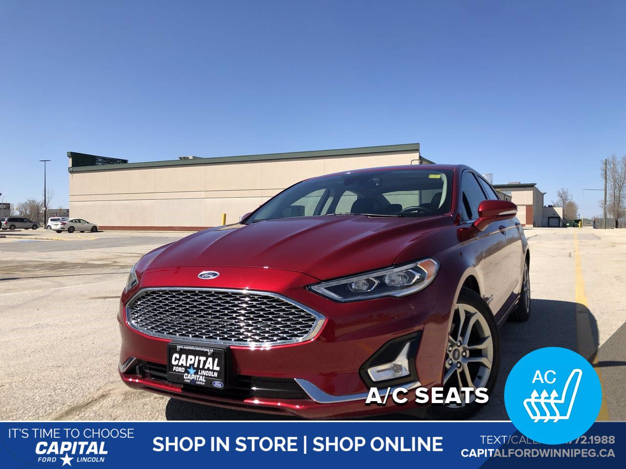 Pre-Owned 2019 Ford Fusion Hybrid Titanium Ask About 2.9% Rate