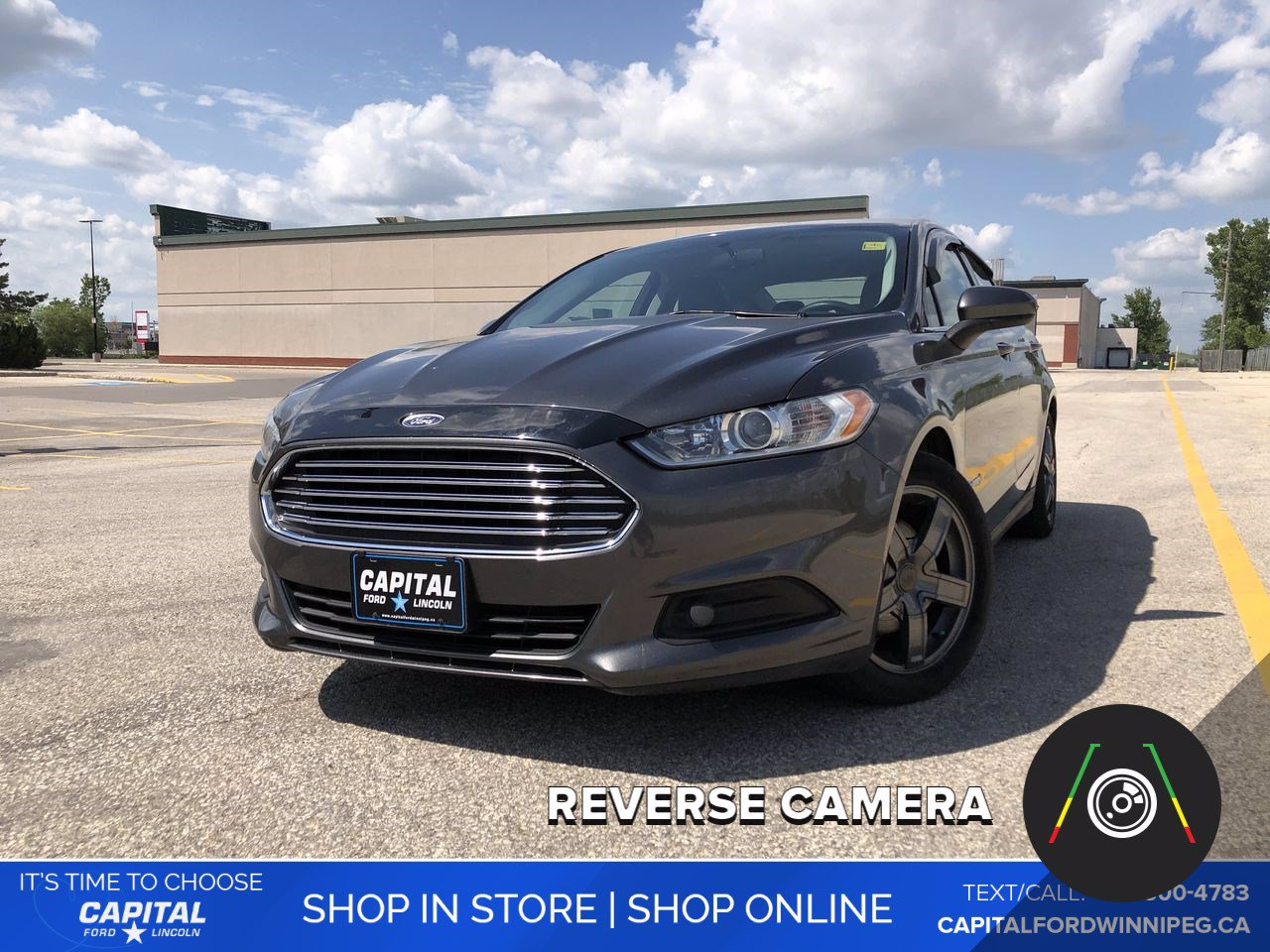 Pre-Owned 2015 Ford Fusion S Hybrid *Back-up Camera *Bluetooth Connection