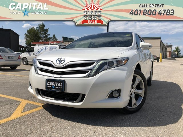 Pre-Owned 2014 Toyota Venza LIMITED V6 AWD LOCAL TRADE REMOTE START LEATHER SUNROOF NAV