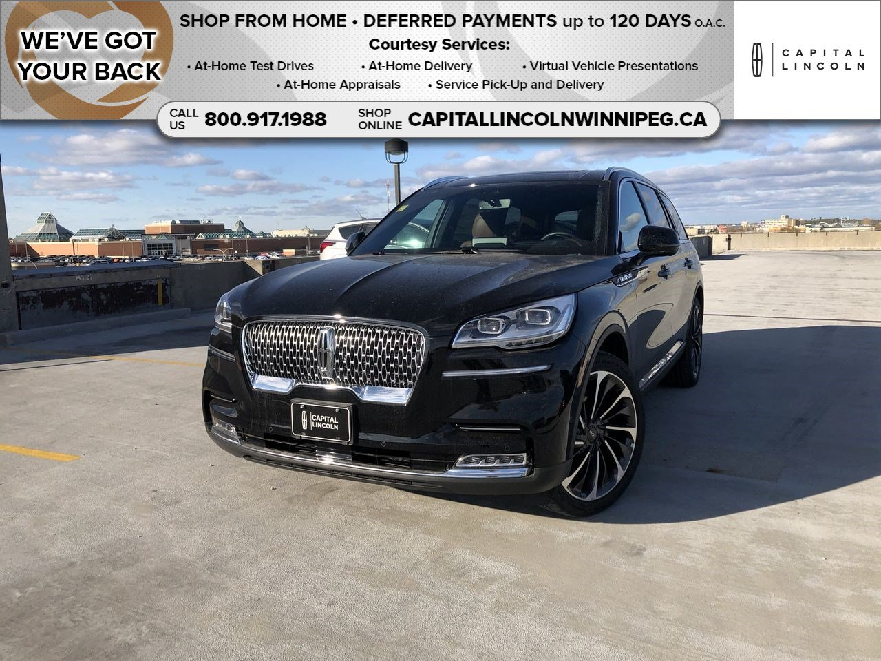 New 2020 Lincoln Aviator Reserve*Adaptive Cruise*Moonroof*Navigation*Wireless Charging