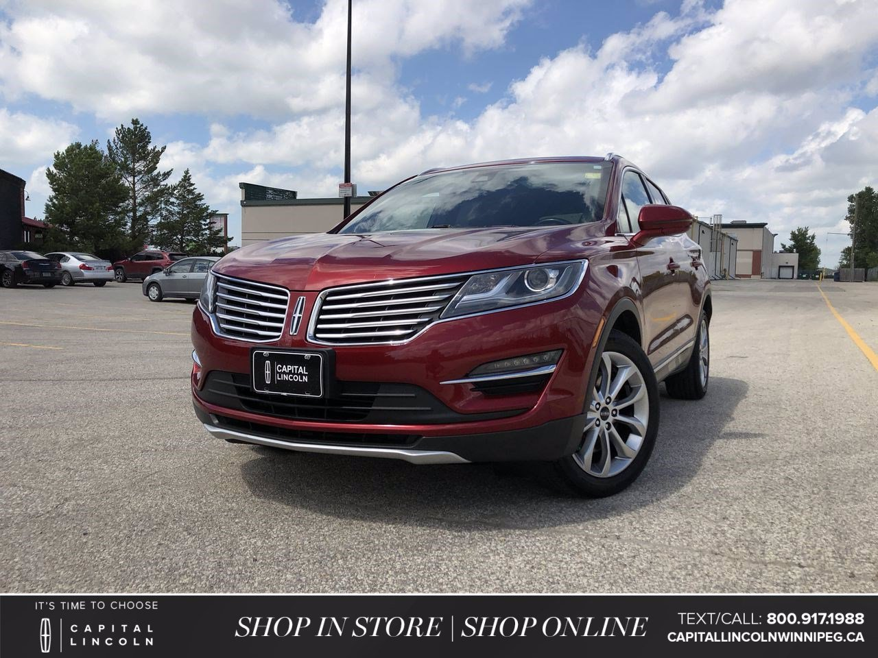 Pre-Owned 2015 Lincoln MKC 4DR AWD *Navigation *Leather Seats *Memory Seat