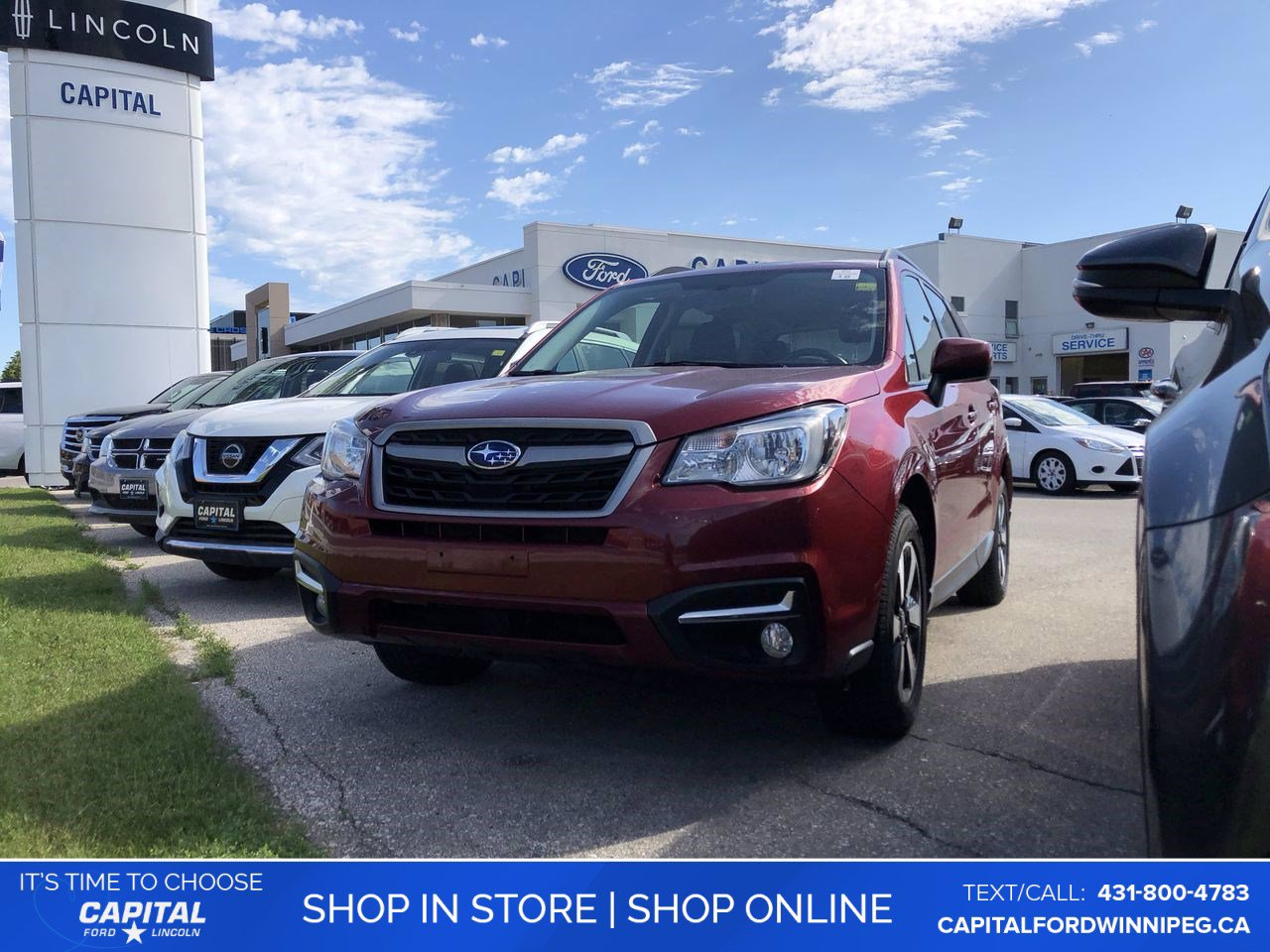 Pre-Owned 2017 Subaru Forester i Touring