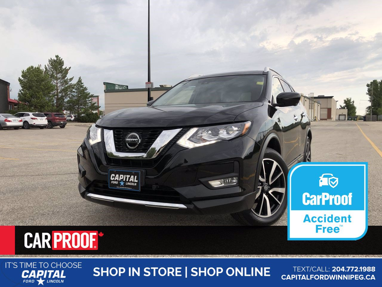 Pre-Owned 2018 Nissan Rogue Midnight Edition AWD *No Accidents *Sunroof *Navigation