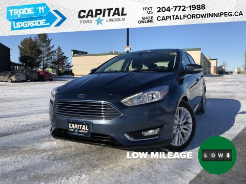 Pre-Owned 2018 Ford Focus Titanium Ask About 2.9% rate