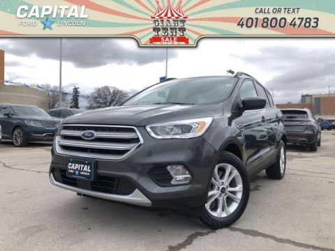 Pre-Owned 2018 Ford Escape SEL 4WD SAFE AND SMART PKG ASK THE 1.9% FINANCE