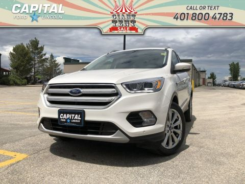 Pre-Owned 2018 Ford Escape Titanium 4WD **New Arrival**