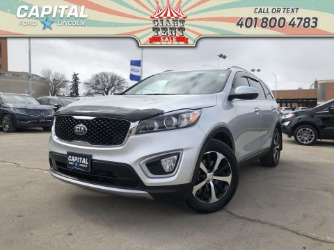 Pre-Owned 2017 Kia Sorento EX TURBO LOCAL ONE OWNER TRADE CARPLAY REMOTE START