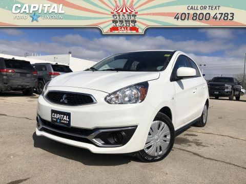 Pre-Owned 2018 Mitsubishi Mirage ES PLUS HB LOCAL TRADE REMOTE START CARPLAY